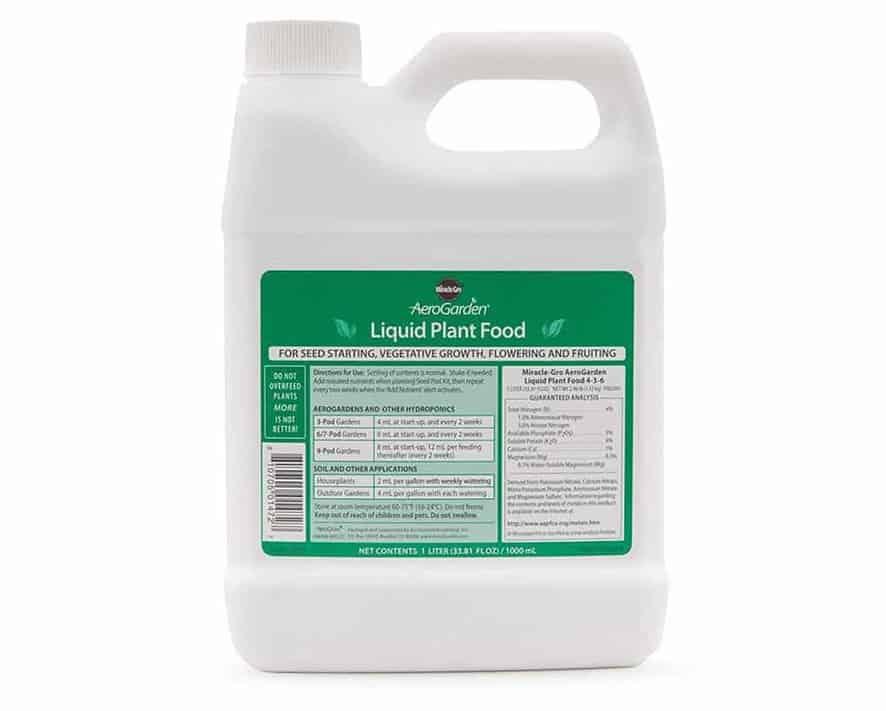 hydroponic nutrients AeroGarden liquid nutrients