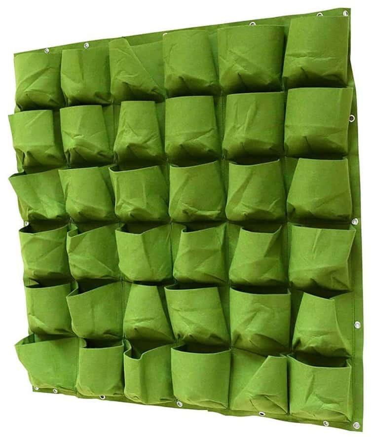 cloth vertical planter