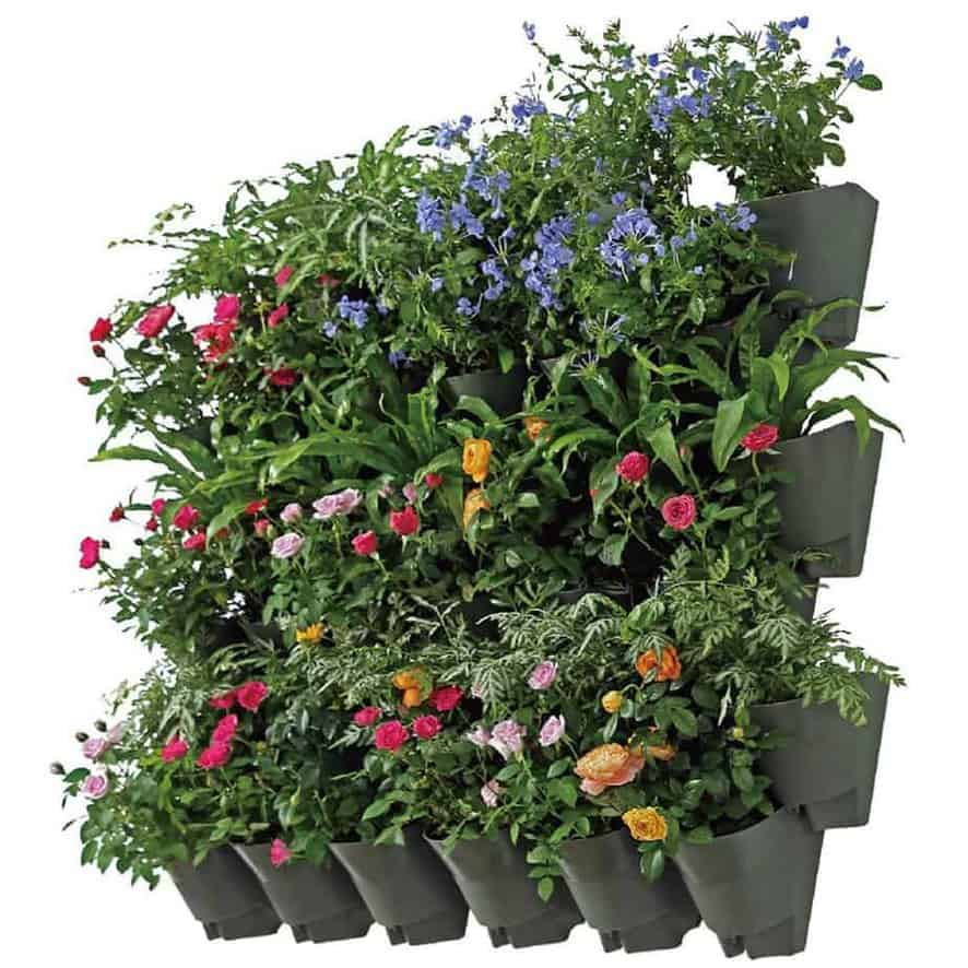 plant wall hanger with pots