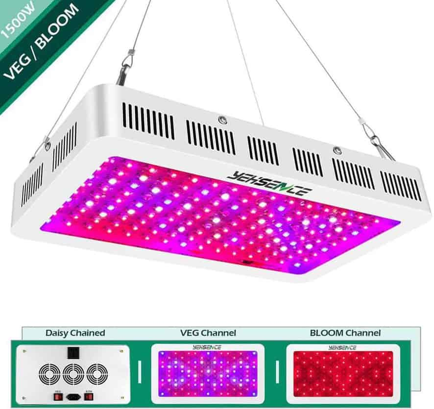 Yehsence 1500W LED Indoor Grow Light