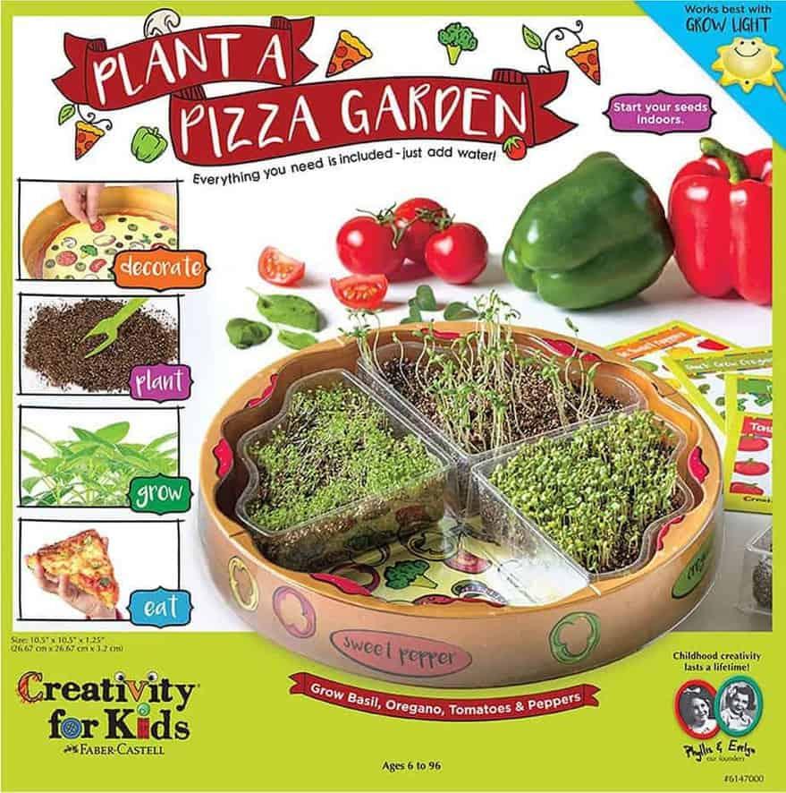 Creativity for Kids Plant a Pizza Garden - Indoor Herb Garden Kit