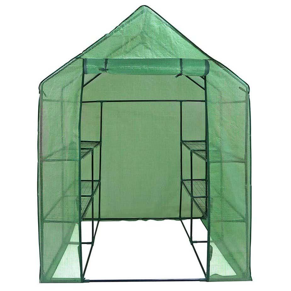 HomGarden Mini Walk-In Greenhouse Ten