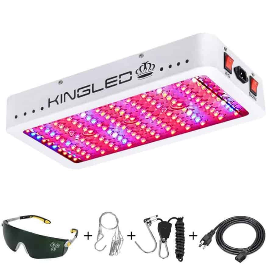 king plus grow light full spectrum