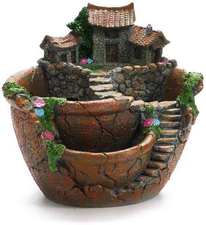 OUNONA Fairy Garden Plant Pot