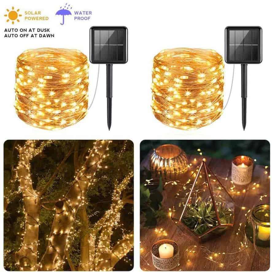 Solar POwered String Fairy Lights