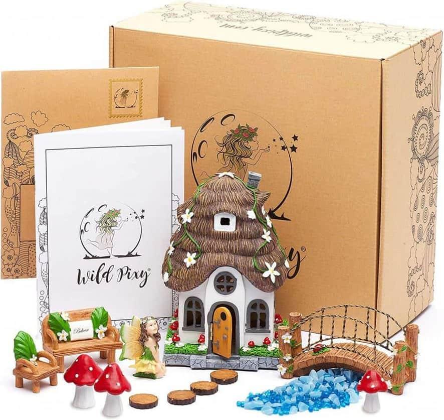 Wild Pixy Fairy Garden Accessories Kit
