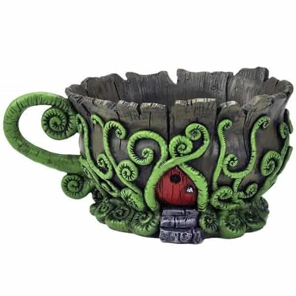Fairy Garden Teacup Planter
