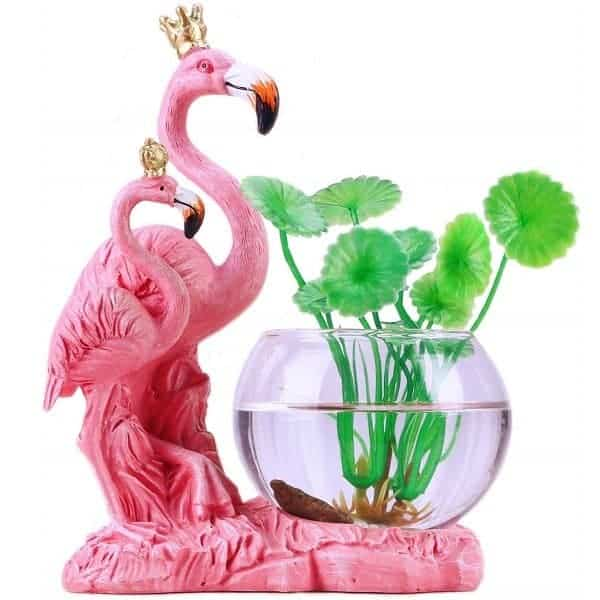 Pink Flamingo Planter