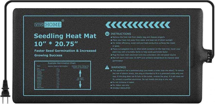 Indoor Gardening Supplies - Plant heat mat