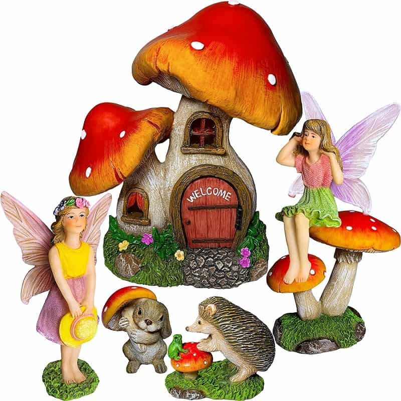Creating a Fairy Garden with figurines