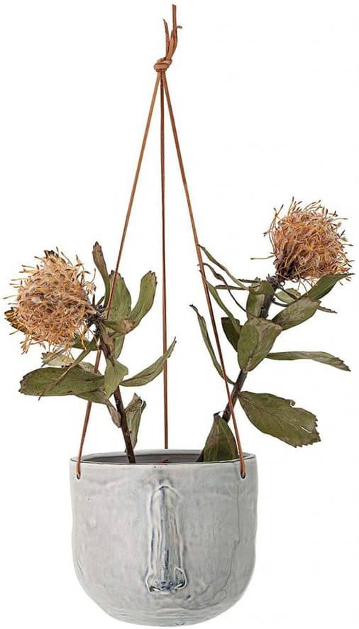 Stoneware Hanging Plant Container Ideas