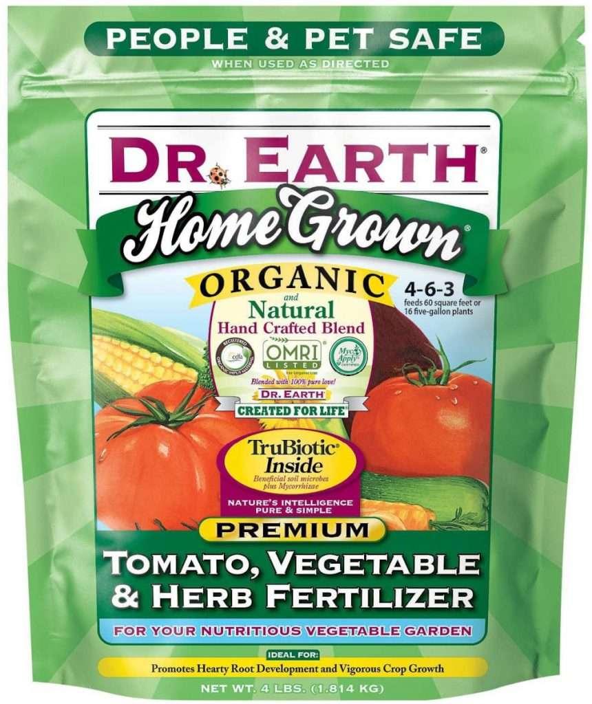Dr. Earth Plant Fertilizer