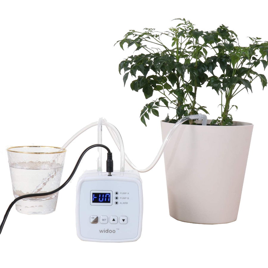 Drip Gardening without Soil